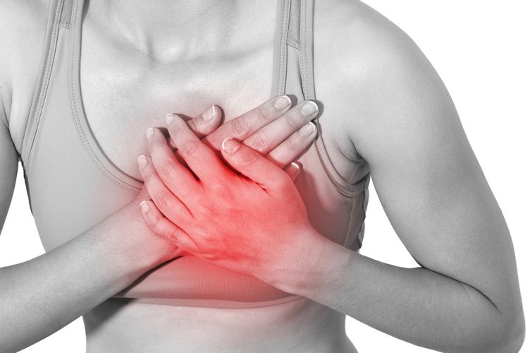 Печет в области сердца головокружение