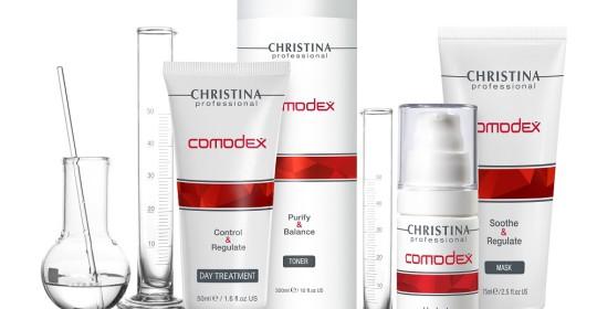 Christina Comodex (7 этапов) + Механическая чистка