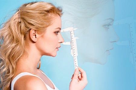 Проведение коррекции формы носа